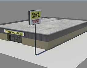 Dollar General 3D asset
