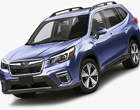 Subaru Forester 2019 3D