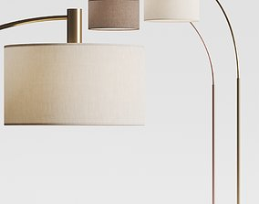 3D model Nexo Luce Gricia Floor Lamps