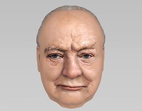 3D Winston Churchill