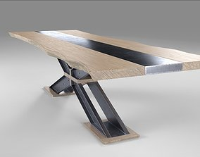 3D X Dining Table