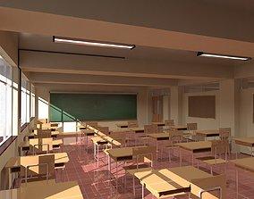 Japanese Classroom 3D