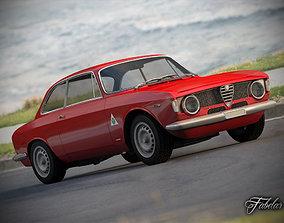 Alfa Giulia Sprint std mat 3D