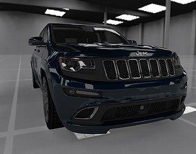 3D asset jeep grand cherokee