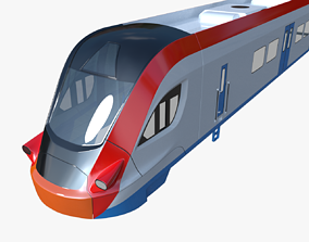 3D Ivolga train
