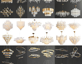 3D model Chandelier Collection 001 - High Quality 36 2