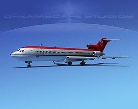 Boeing 727-200 Northwest Airlines 2 3D model