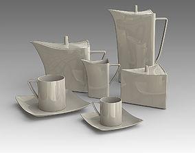 Tea set 10 3D model