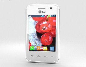 3D model LG Optimus L1 II TRI White