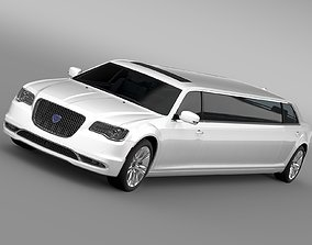 Lancia Thema Limousine 2017 3D model