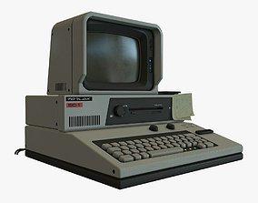 3D model Retro Sci-Fi Computer