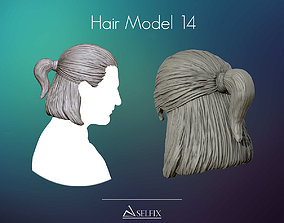 Hairstyle model 14