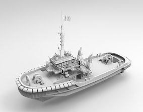 Tugboat Model