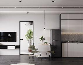 Interior design sofa 3D