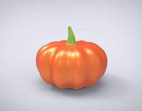 VR / AR ready Pumpkin Low-poly 3D model