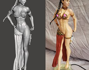 Beach Fighter3 Princess by SPARX 3D print model