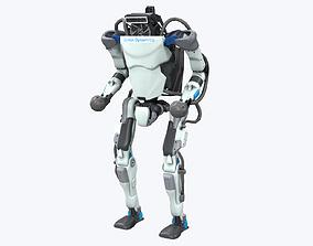3D asset VR / AR ready Atlas Robot Boston Dynamics