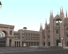 Duomo Milano 3D model