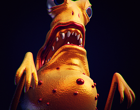 Bacteria 2 rigged 3D