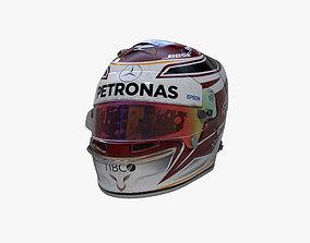 Hamilton helmet 2019 3D asset