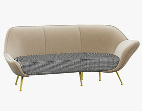 Baxter Mio Sofa 3D model