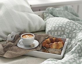 3D Breakfast bed