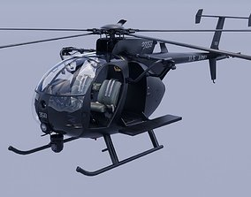 MH6Little Bird Marine version 3D