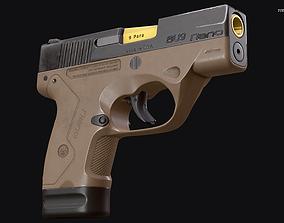 Beretta NANO 3D asset