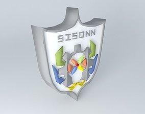 3D model Logo SISONN