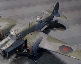 3D model Bristol Bolingbroke Mk-4F - RCAF
