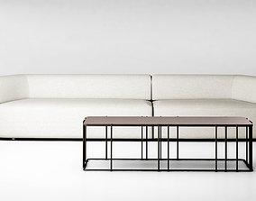 3D Christophe Delcourt Eko sofa and Ato table