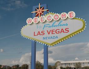 3D Las Vegas Sign