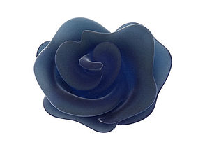Rose bloom 3D print model