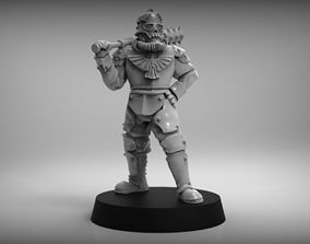 SciFi Trench Fighter 3D print model