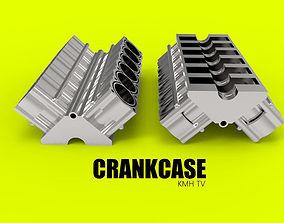crankcase 3D model