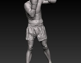 3D model Male Boxer