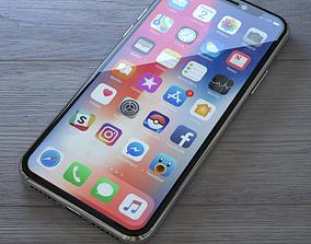 IphoneX Apple Phone 3D Model call