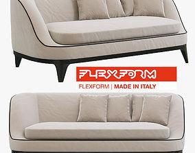 3D model Flexform Dragonfly sofa