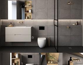 3D model Bathroom 09