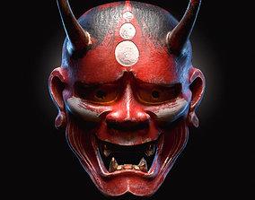 3D model Demon mask