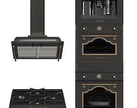 3D model Smeg Cortina Black