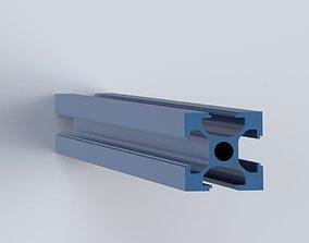 Aluminum extrusion 2020 3D