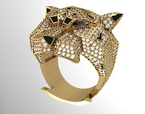 3D printable model Unisex Panther Ring