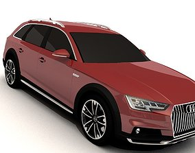 3D asset Audi A4 Allroad 2016