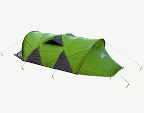 Camping Tent 3D asset game-ready