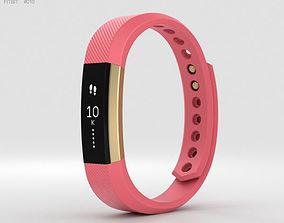 Fitbit Alta Pink-Gold 3D model
