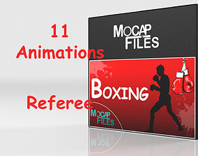 Boxing - Referee- motion capture animations- Bundle 3D
