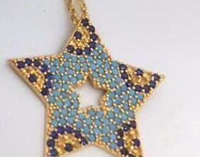 3D printable model star necklaces jewelry designer