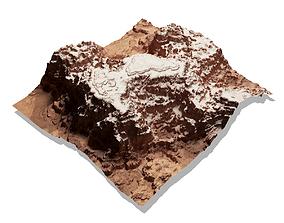 3D Terrain canyon hill