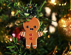 3D print model Gingerbread happy man